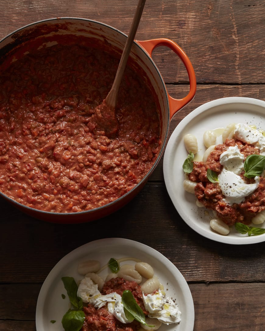 Ragù alla Bolognese from www.whatsgabycooking.com (@whatsgabycookin)