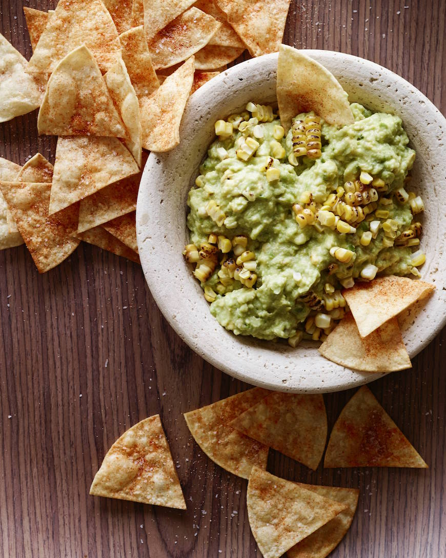 Charred Corn Guacamole from www.whatsgabycooking.com (@whatsgabycookin)