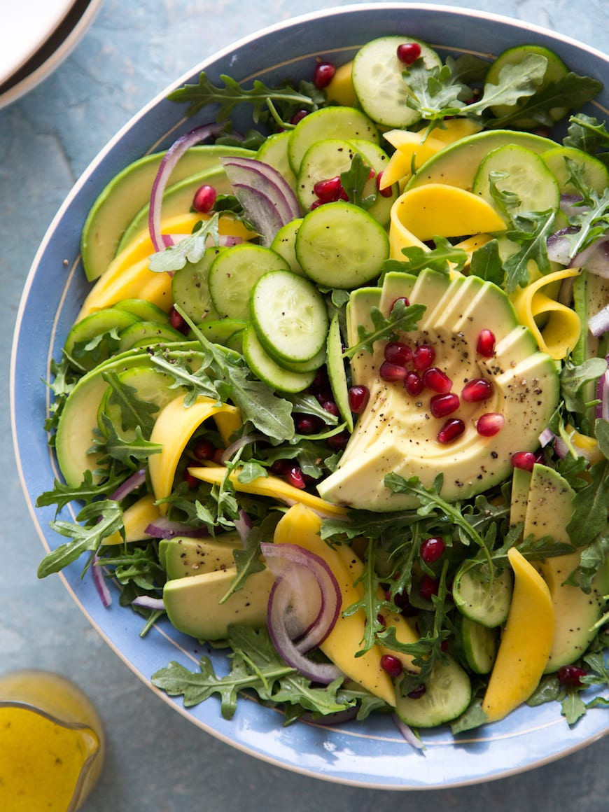Tropical Avocado Salad from www.whatsgabycooking.com (@whatsgabycookin)