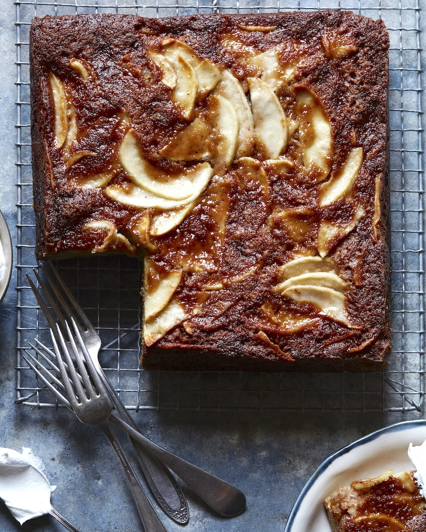 Cinnamon Apple Cake from www.whatsgabycooking.com (@whatsgabycookin)