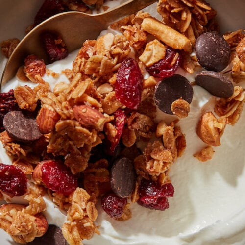 Homemade Coconut Granola from www.whatsgabycooking.com (@whatsgabycookin)