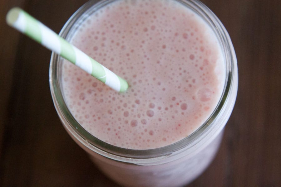 Coconut Strawberry Banana Smoothie