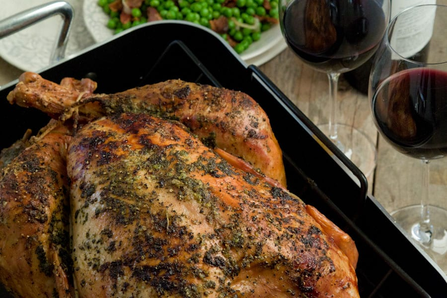 Citrus and Herb Roasted Turkey