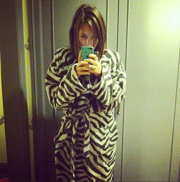 Zebra Robes