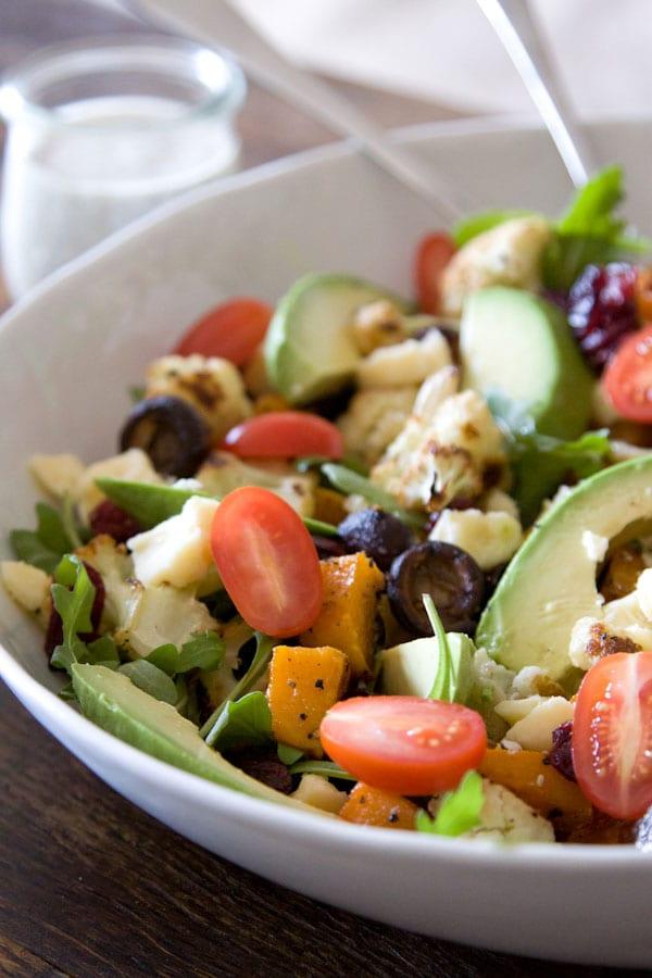 Roasted-Vegetable-and-Avocado-Salad