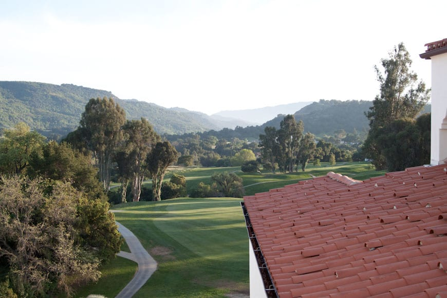 Ojai Valley Inn & Spa Balcony View