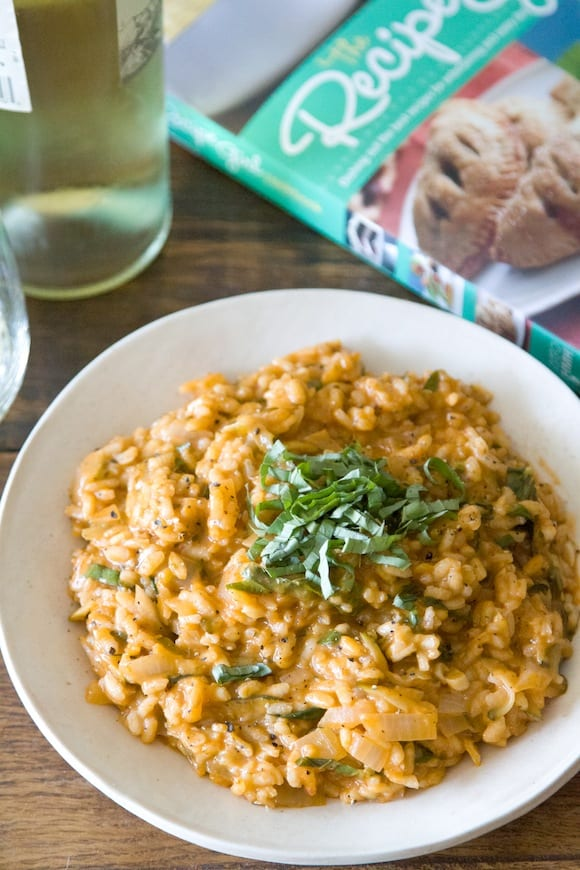 Tomato Mascarpone Risotto from What's Gaby Cooking