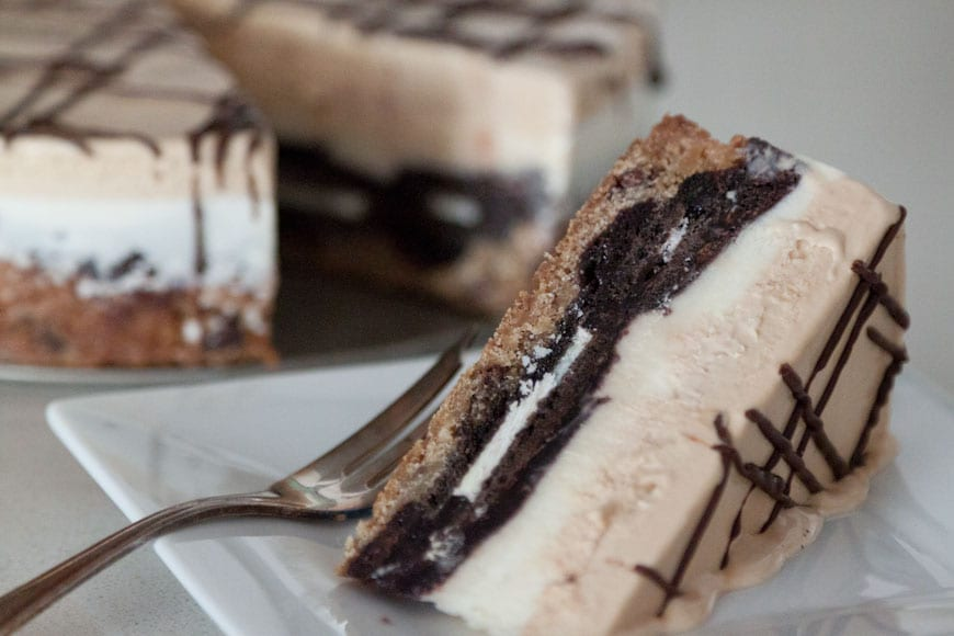 Slutty Brownie Ice Cream Cake from www.whatsgabycooking.com