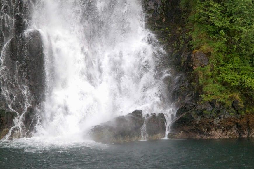 National Geographic Lindblad Alaskan Expedition Waterfall