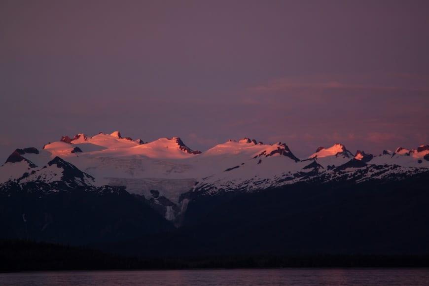 National Geographic Lindblad Alaskan Expedition Dusk