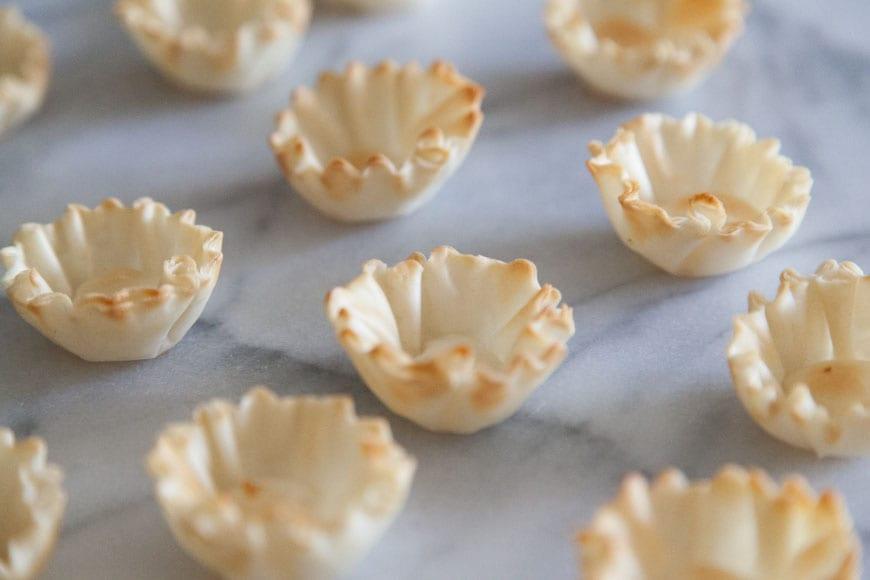 Mini Filo Shells