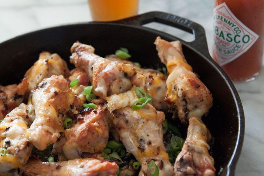 Tabasco Bacon Cheddar Wings