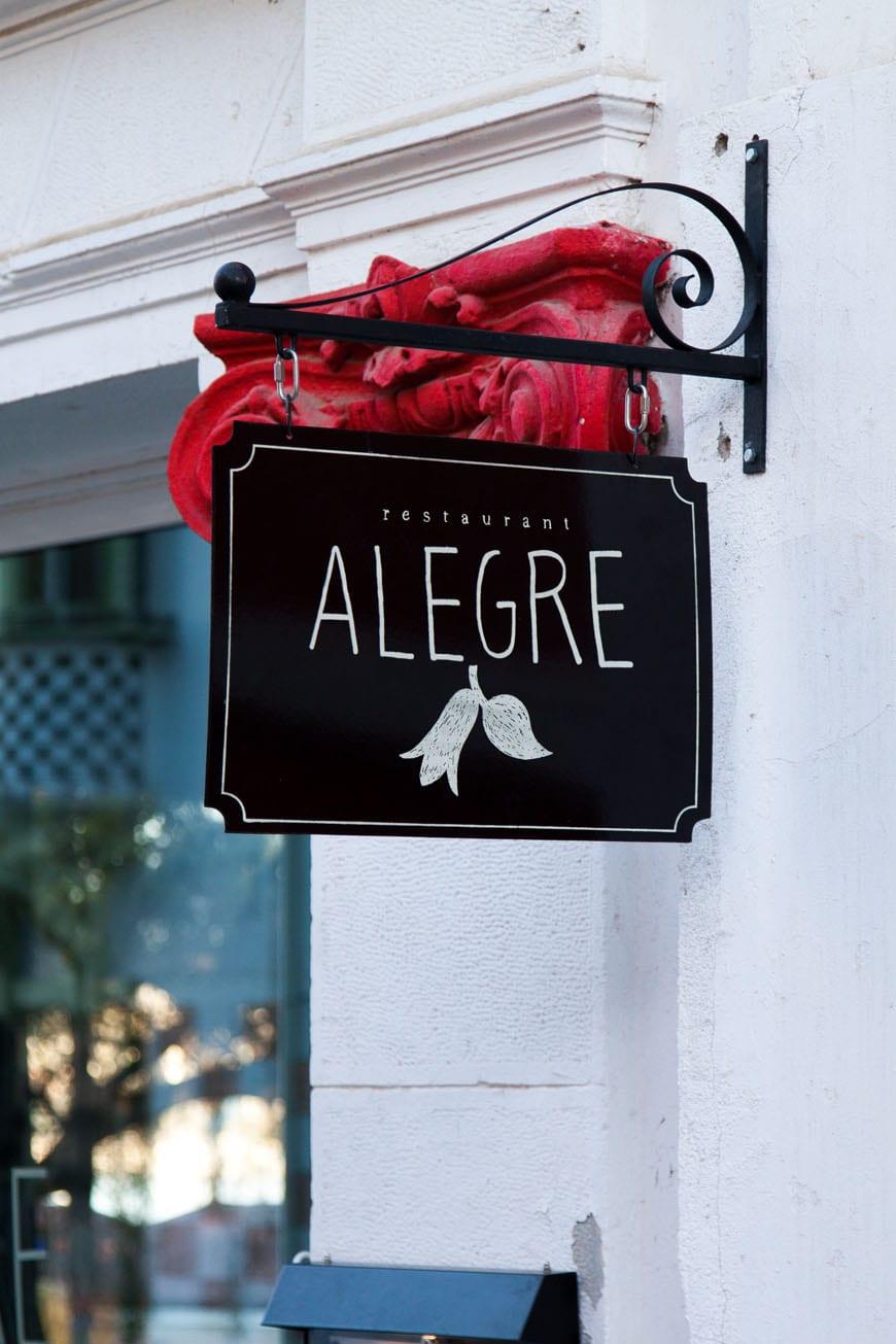 Alegre Restaurant - Valparasio, Chile