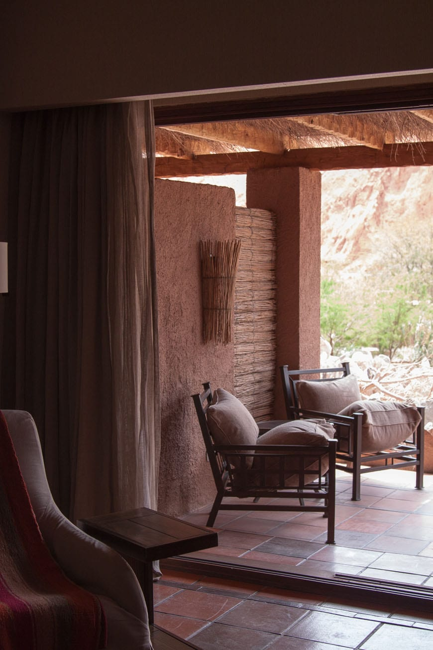 Alto Atacama Desert Lodge and Spa: Patio