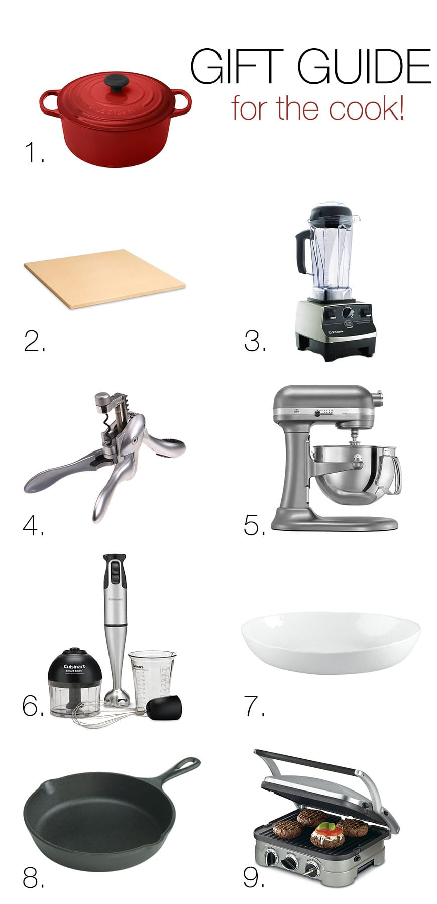 Last Minute Holiday Gift Guide - for the cook!