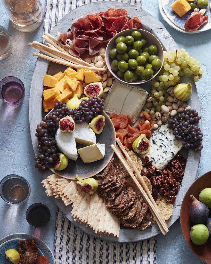 Christmas Cheese Board Ideas.How To Make A Cheese Plate