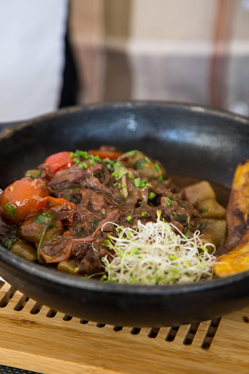 Stewed Beef with Plantains