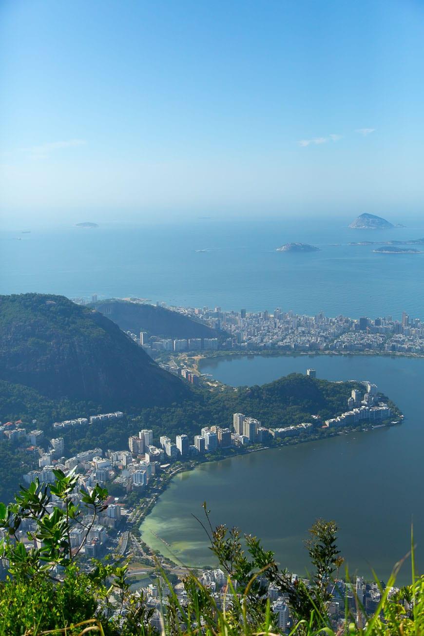 View on top of Rio de Janeiro