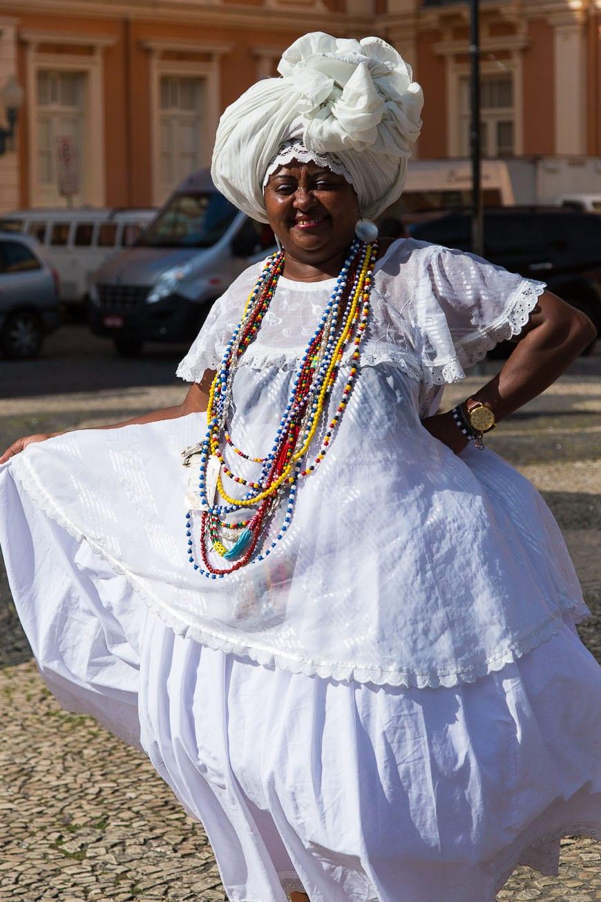 Salvador Brazil, Traditional Dress