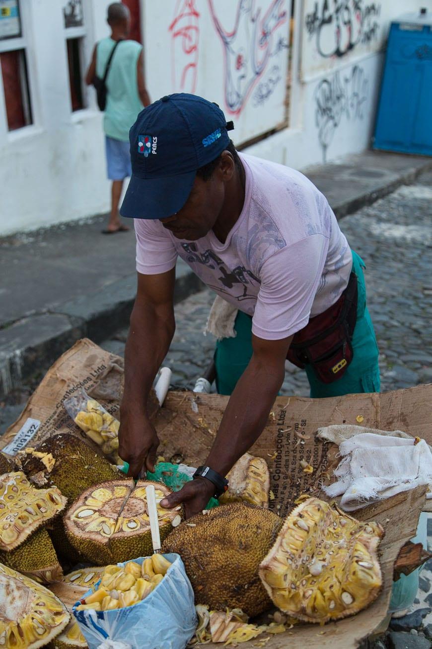 Salvador Brazil, Street Vendors