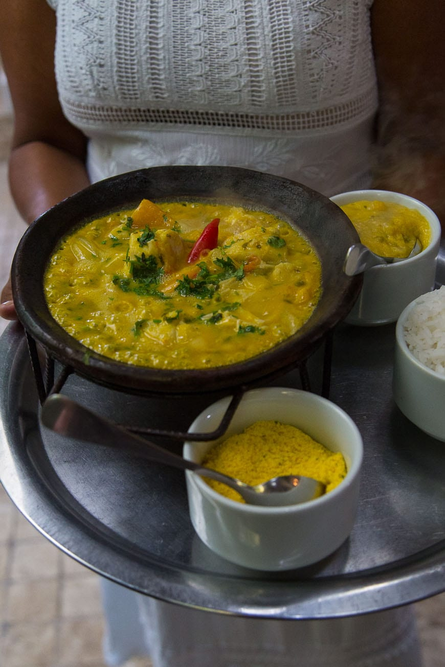 Traditional Mocequa - a Brazilian Fish Stew