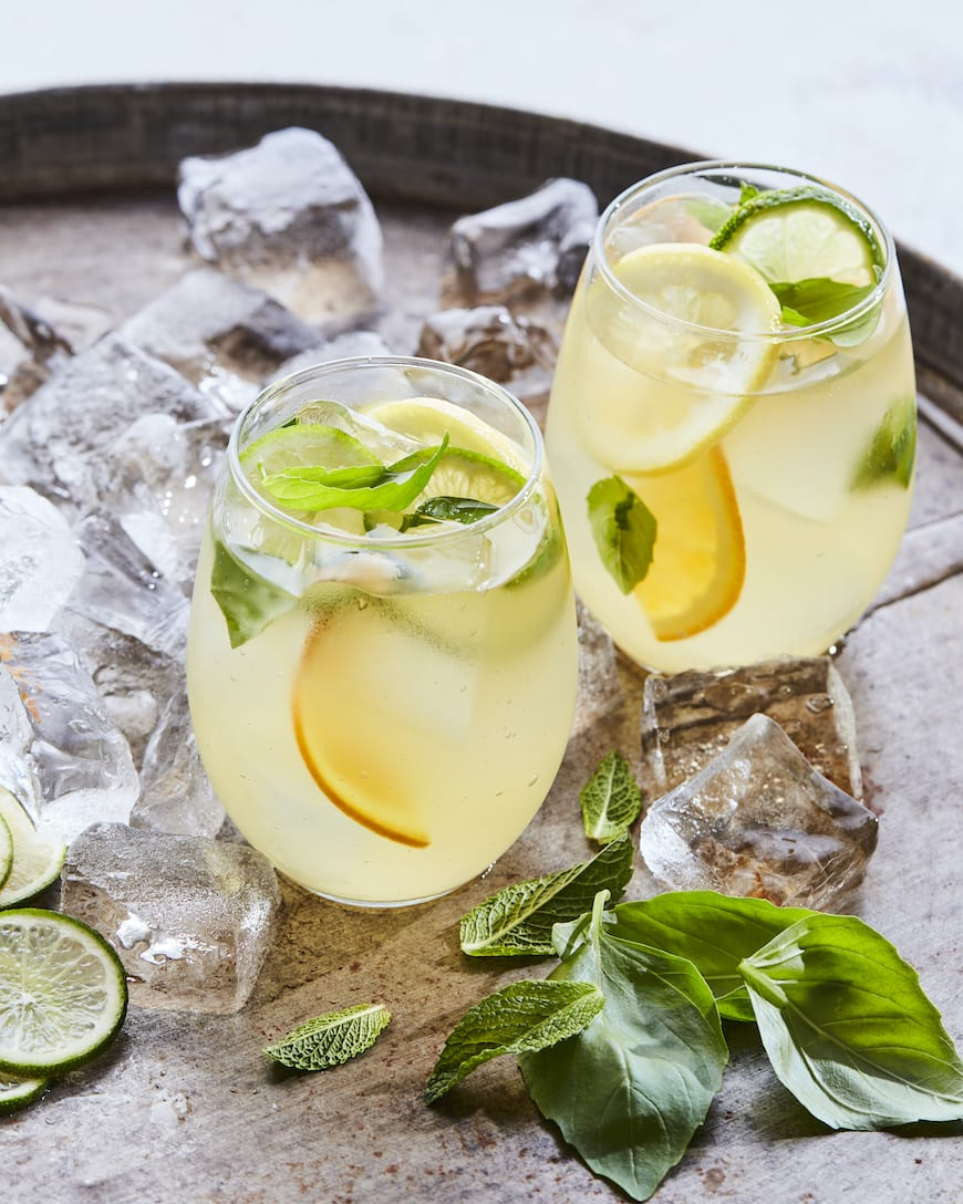 Sparkling Citrus Pineapple Sangria from www.whatsgabycooking.com (@whatsgabycookin)