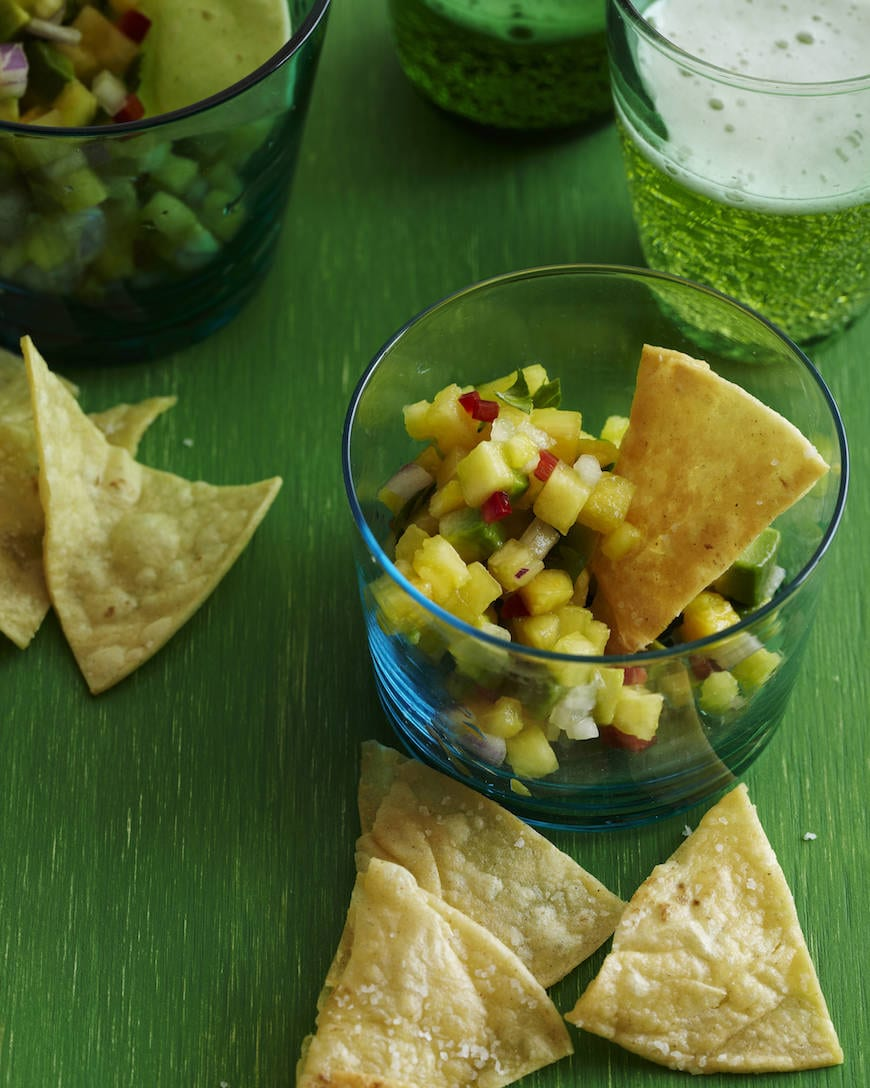 Tropical Pineapple Salsa