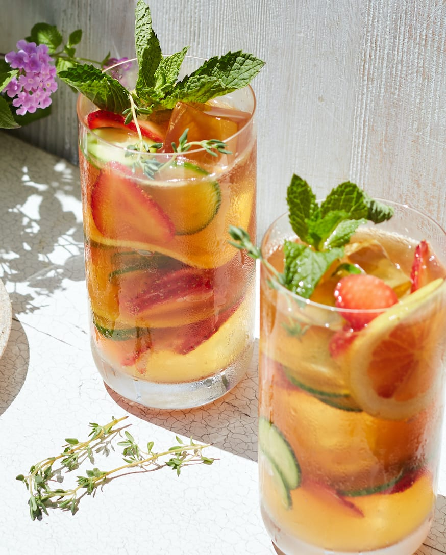 Pimm's Cup from www.whatsgabycooking.com (@whatsgabycookin)