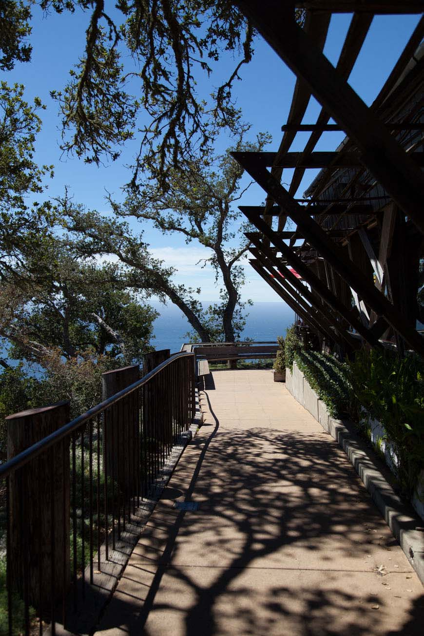 Big Sur - Nepenthe Patio