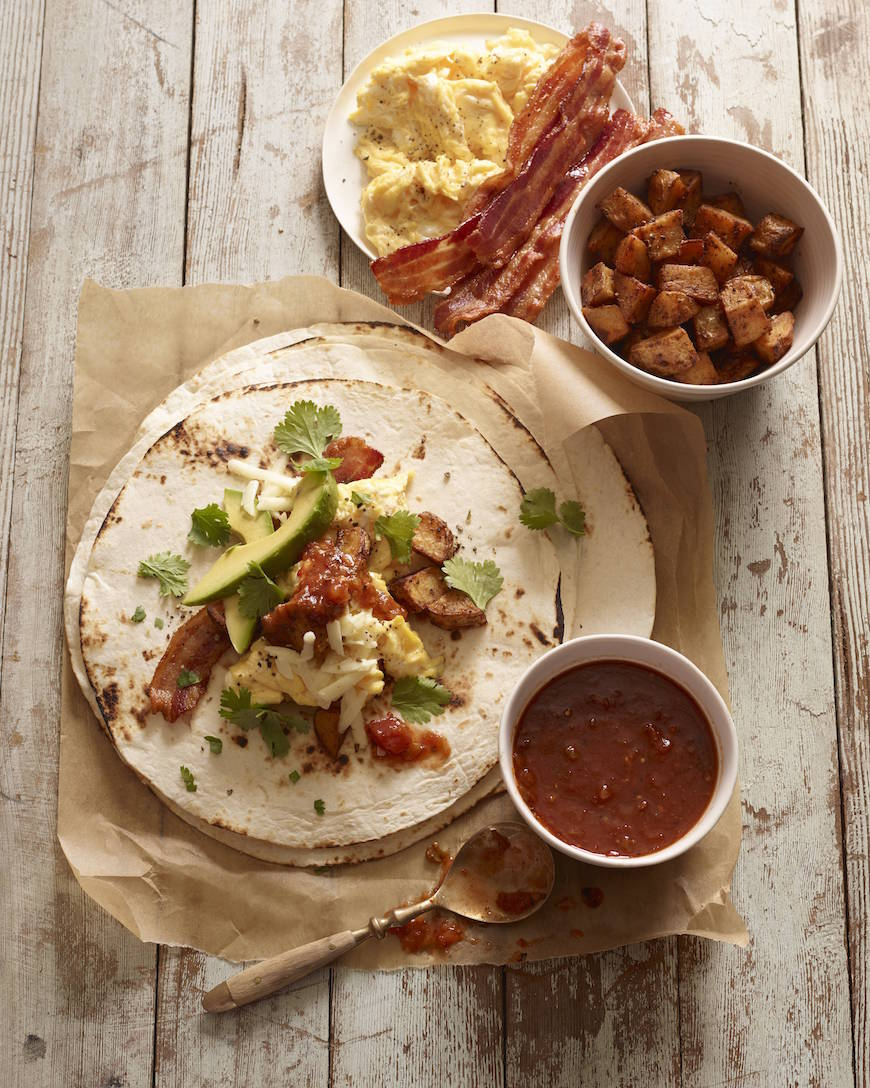 Breakfast Burritos from www.whatsgabycooking.com (@whatsgabycookin)