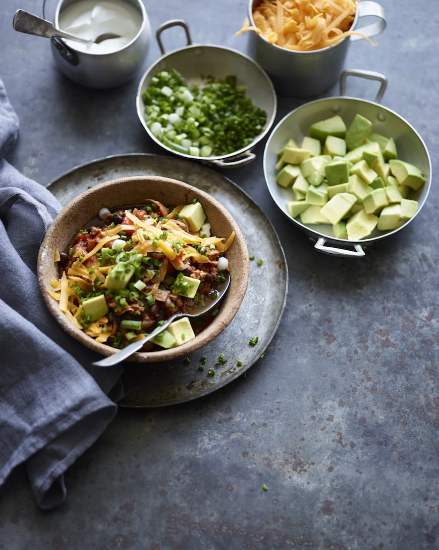 Smoky Chipotle Chicken Chili from www.whatsgabycooking.com (@whatsgabycookin)
