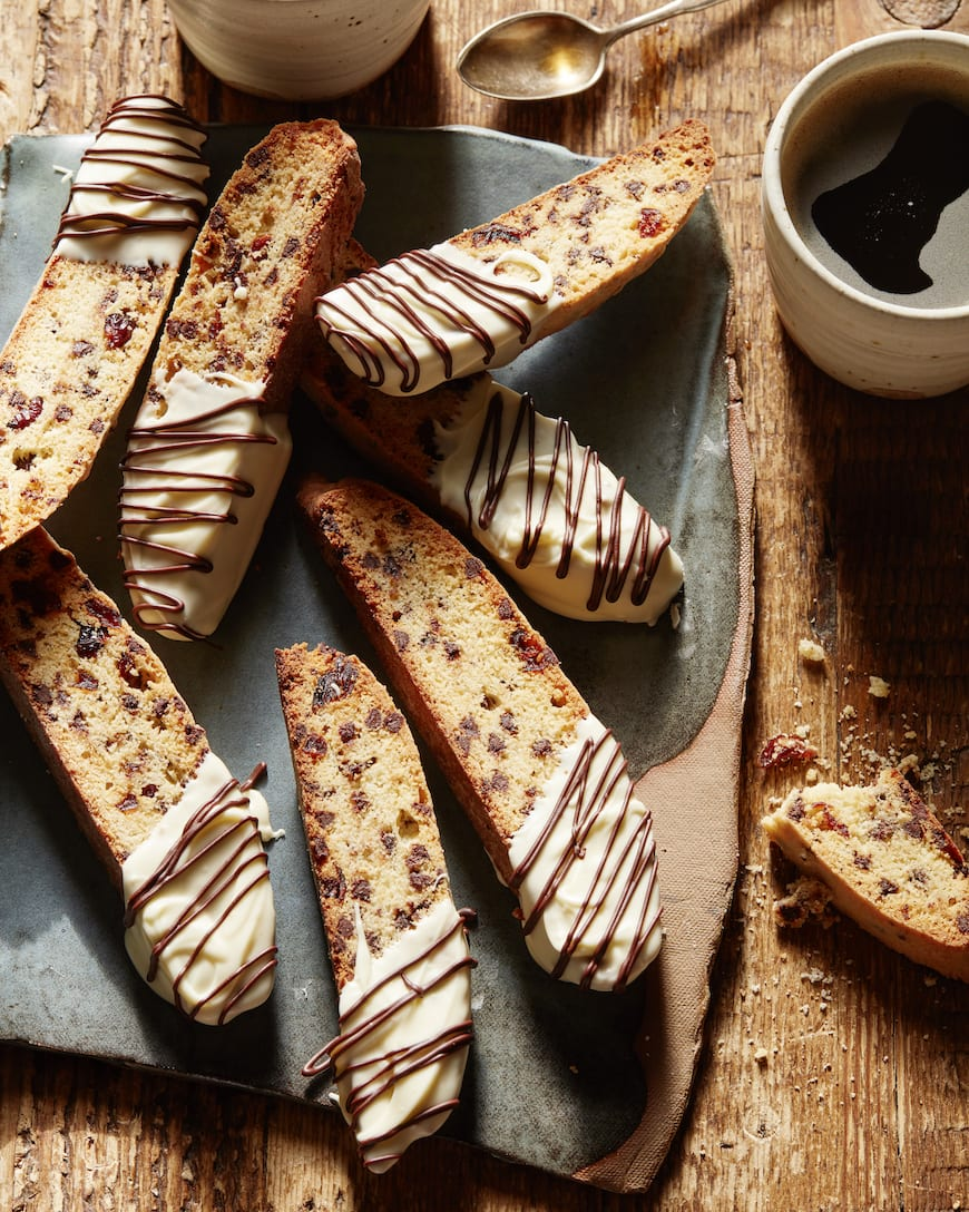 White Chocolate and Cranberry Biscotti from www.whatsgabycooking.com (@whatsgabycookin)
