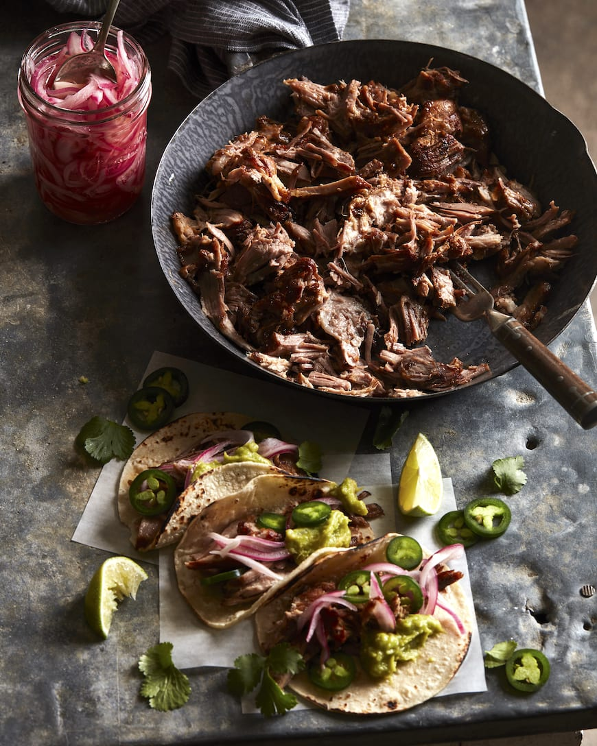 Carnitas Tacos - What's Gaby Cooking