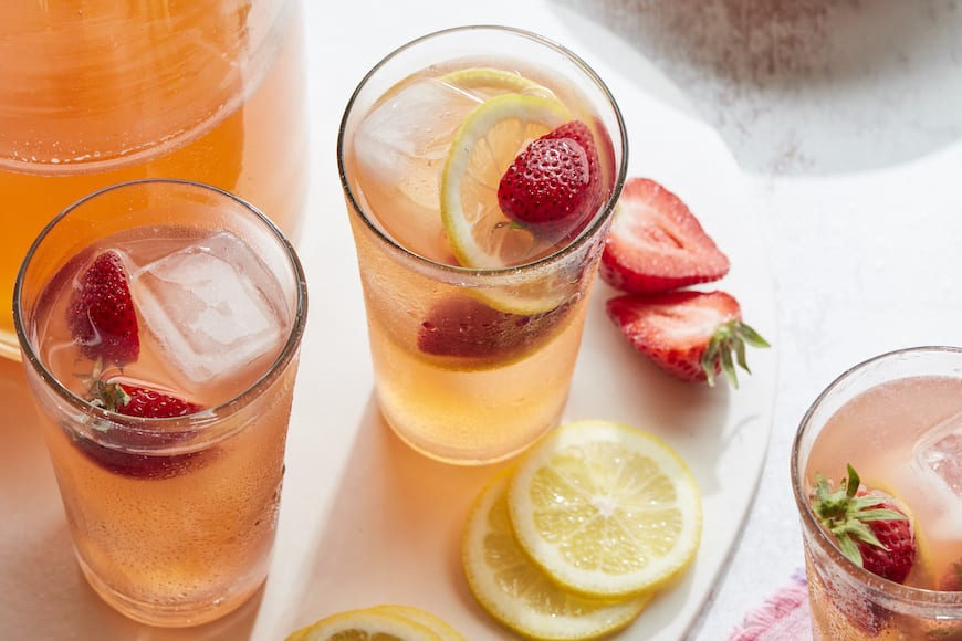 Spiked Pink Lemonade from www.whatsgabycooking.com (@whatsgabycookin)