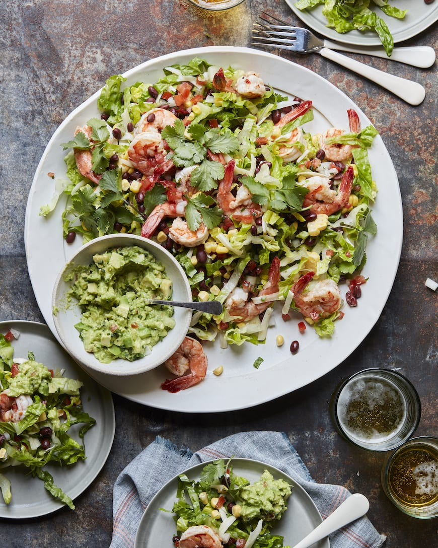 Mexican Cobb Salad from www.whatsgabycooking.com (@whatsgabycookin)