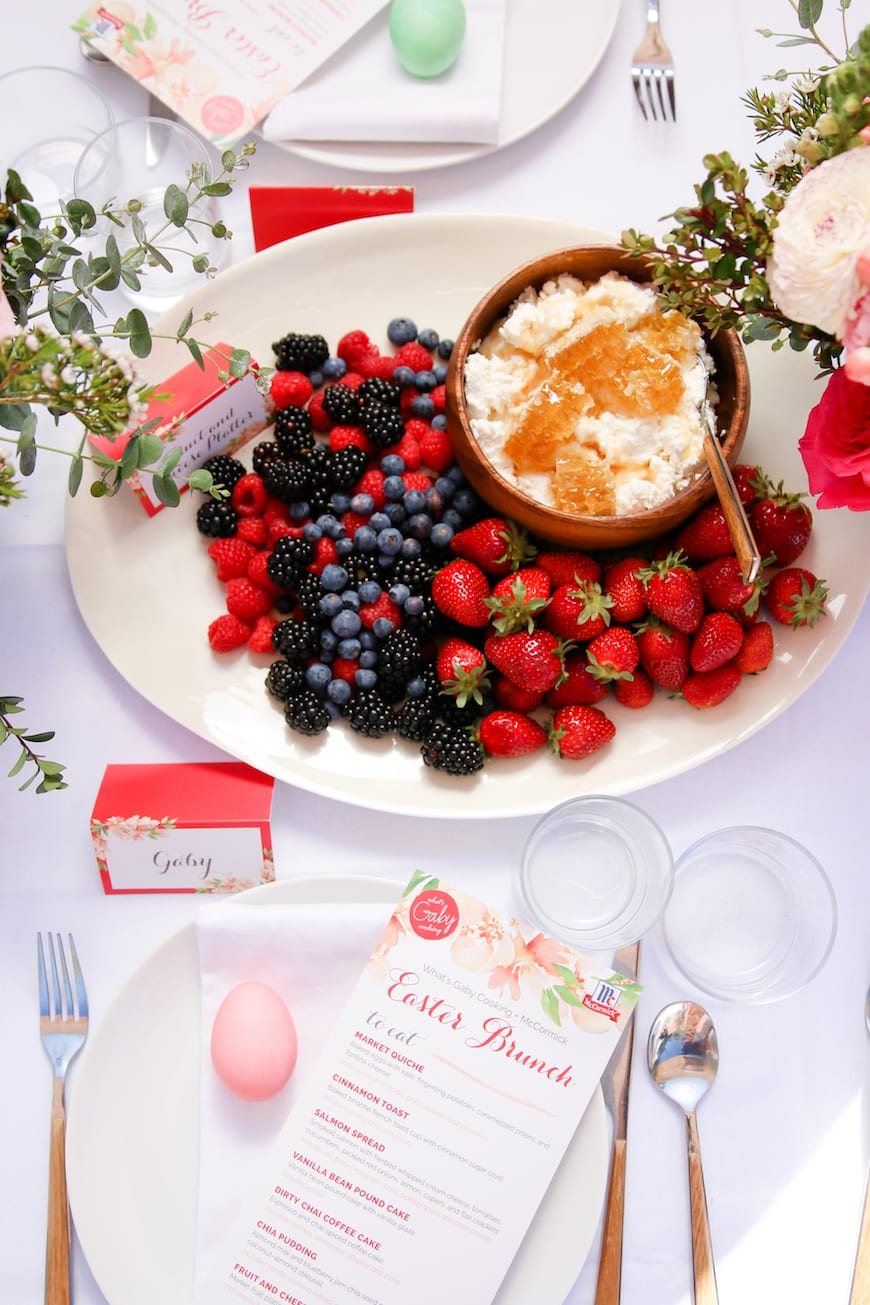 What's Gaby Cooking Easter Brunch from www.whatsgabycooking.com (@whatsgabycookin)