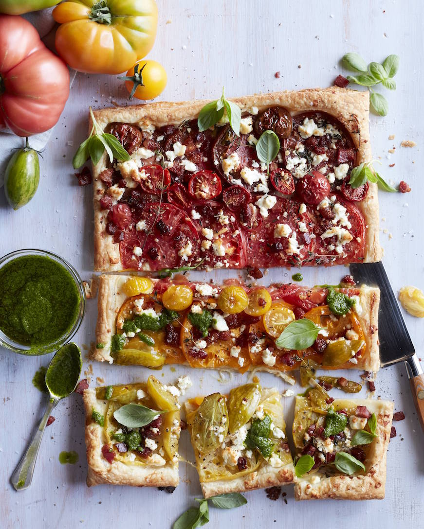 Heirloom Tomato Tart from www.whatsgabycooking.com (@whatsgabycookin)