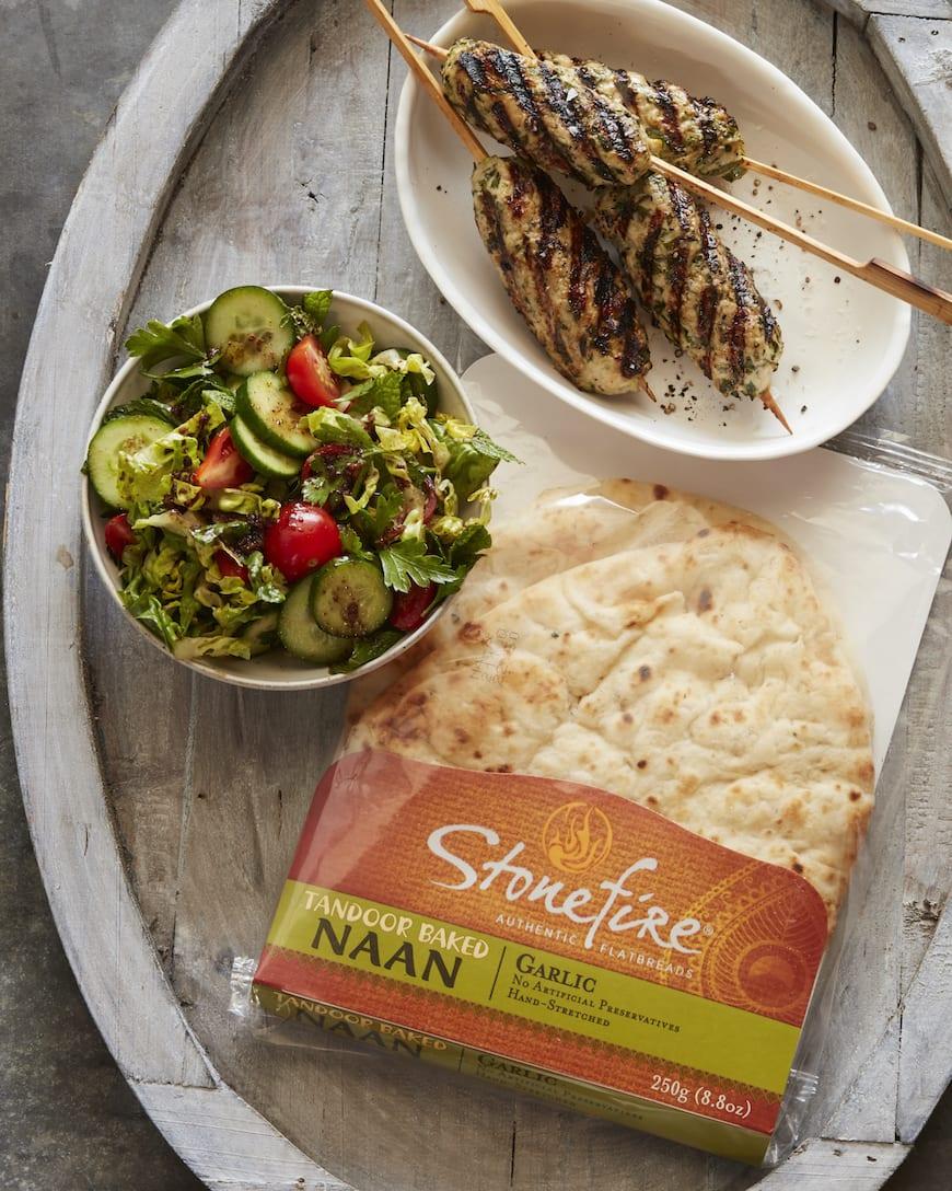 Chicken Kefta Wraps from www.whatsgabycooking.com (@whatsgabycookin)