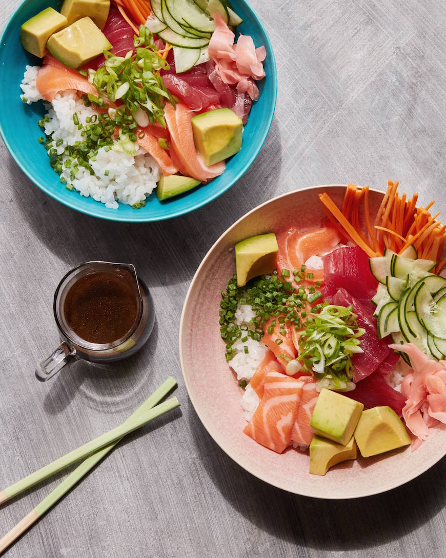 Sushi Bowls from www.whatsgabycooking.com (@whatsgabycookin)