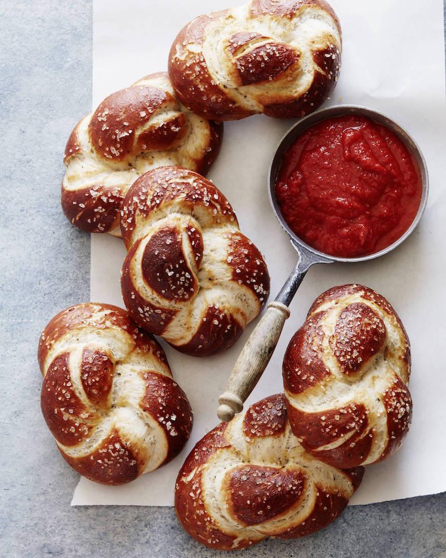 Garlic Herb Parmesan Pretzel Twists from www.whatsgabycooking.com (@whatsgabycookin)