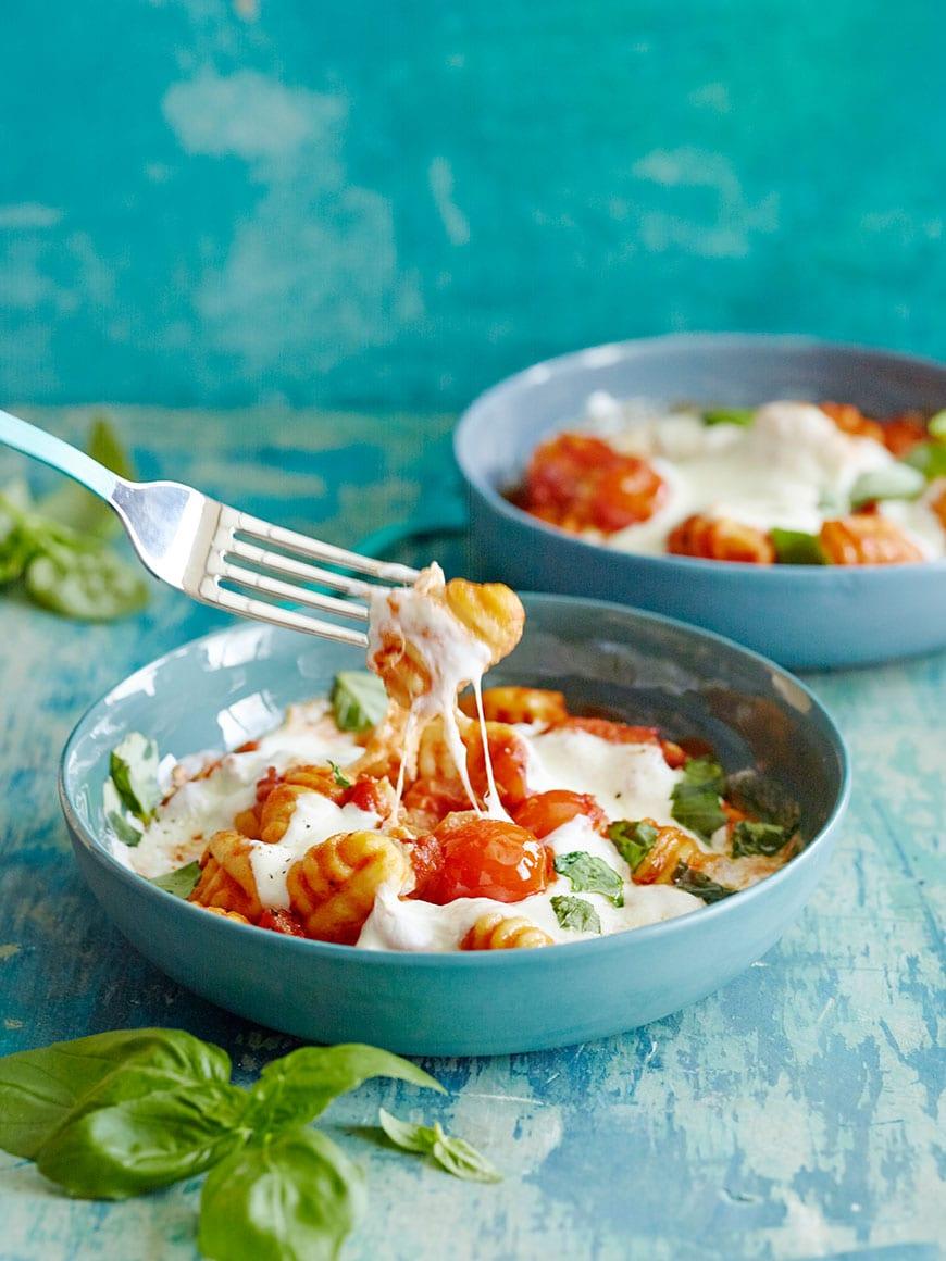Cheesy Baked Gnocchi Recipe