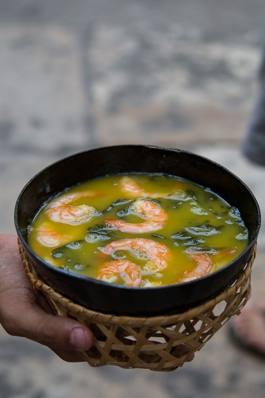 Traditional Soup in Belém, Brazil