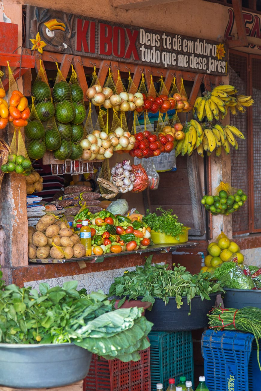 Roadside Markets in Belém, Brazil