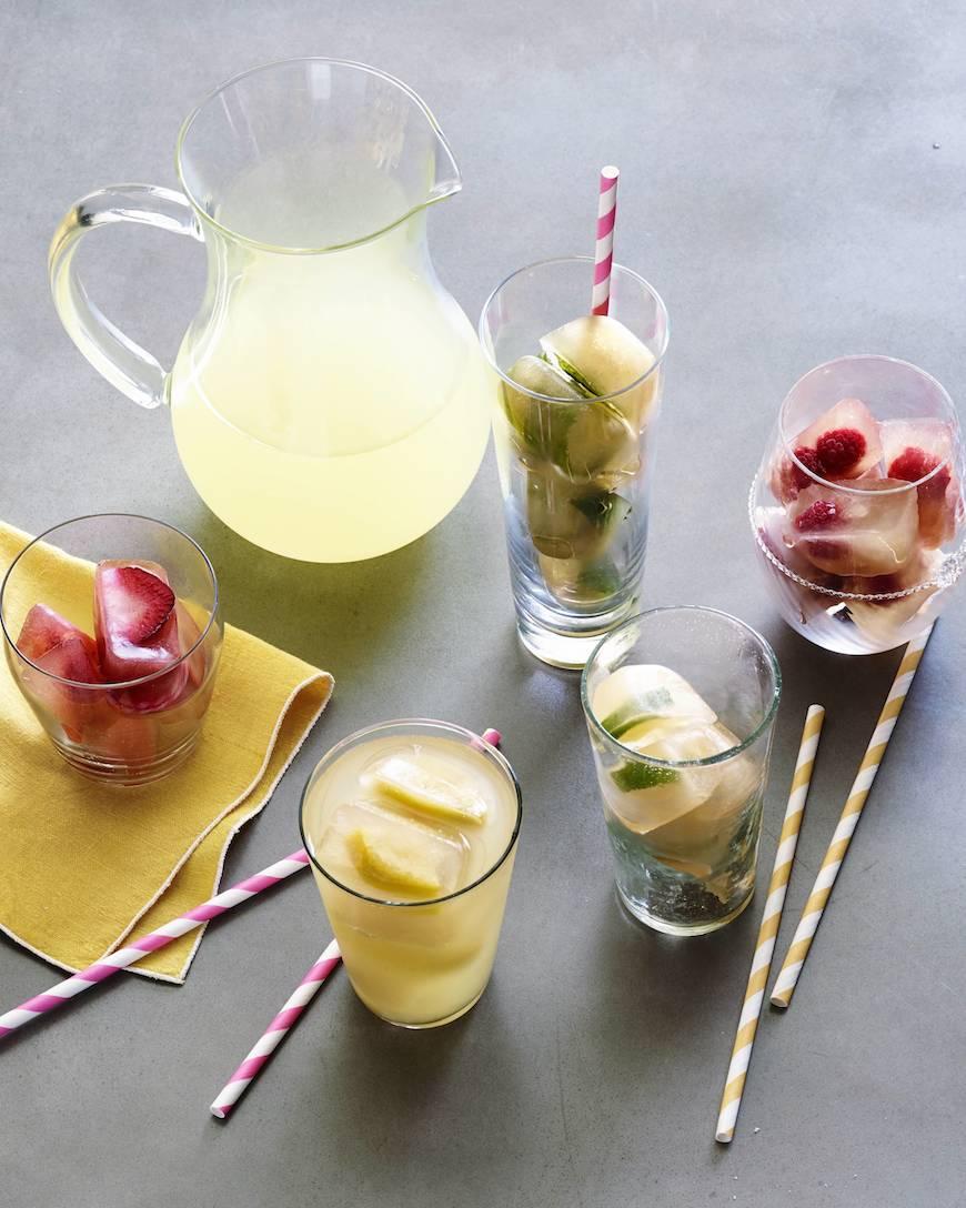 Lemonade Iced Tea Ice Cube