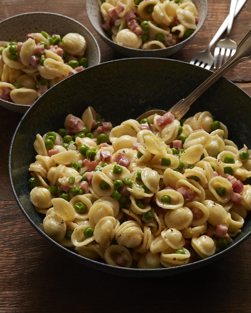 Schinkennudeln (Ham & Cheese Pasta) from www.whatsgabycooking.com (@whatsgabycookin)