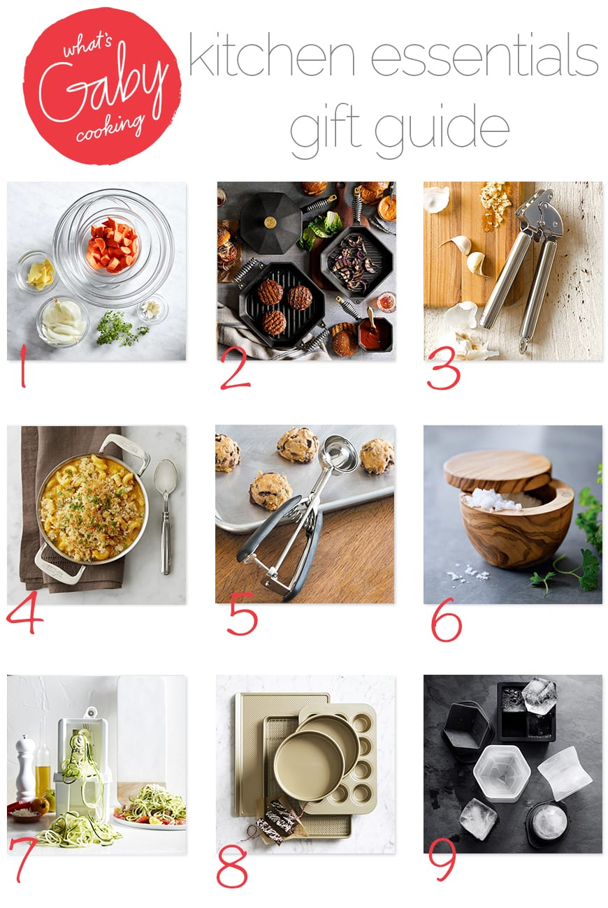 What's Gaby Cooking Gift Guide / Kitchen Essentials (from www.whatsgabycooking.com) @whatsgabycookin