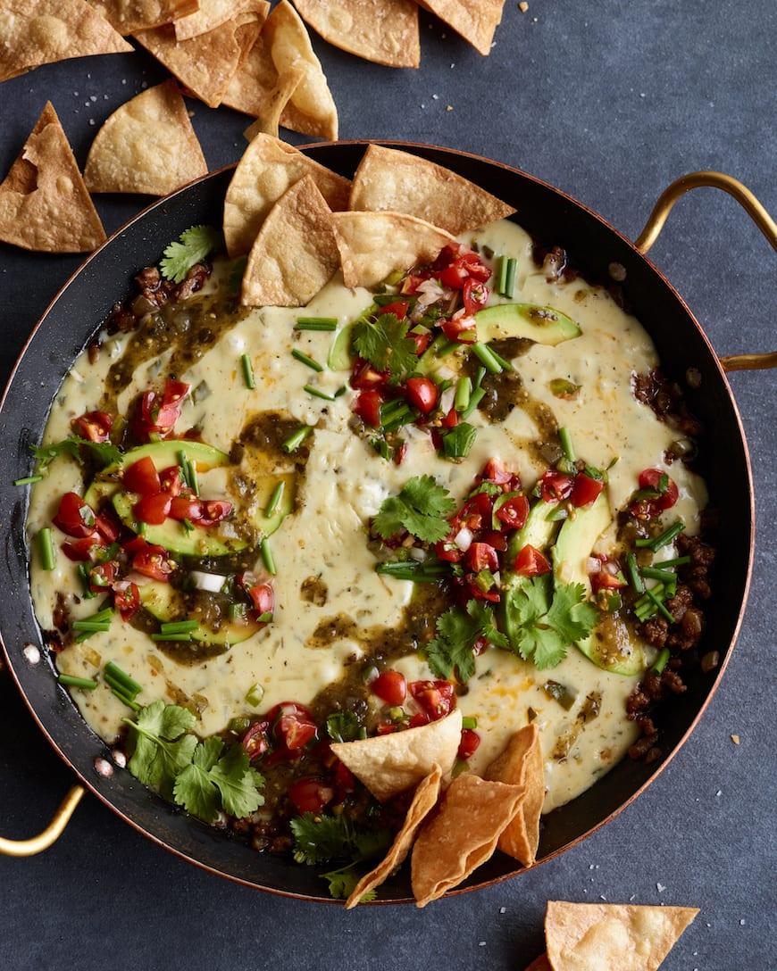 Beef Queso Dip (The Greatest Queso EVER) from www.whatsgabycooking.com (@whatsgabycookin)