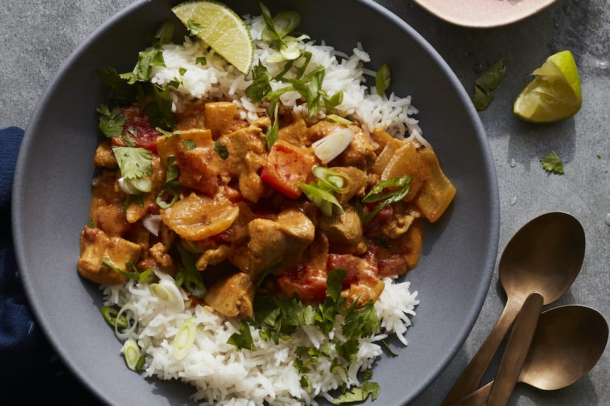 Thai Chicken Coconut Curry What S Gaby Cooking