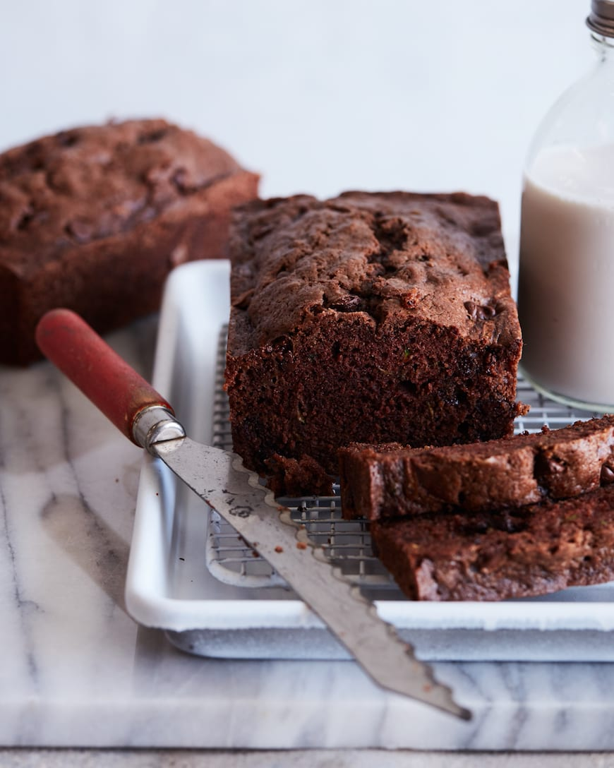 Double Chocolate Chip Zucchini Bread from www.whatsgabycooking.com (@whatsgabycookin)