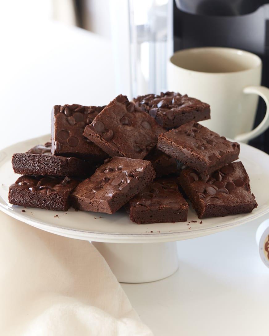 Double Chocolate Mocha Brownies from www.whatsgabycooking.com (@whatsgabycookin)